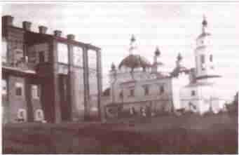 Церковь во имя Афанасия Афонского с церковным домом (20-е годы XXстолетия)